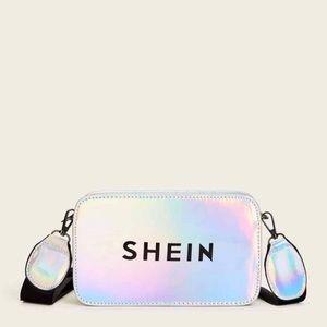 Shein Hologram Logo Laser Crossbody Bag